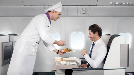 Exklusive Privilegien mit dem Turkish Airlines Corporate Club